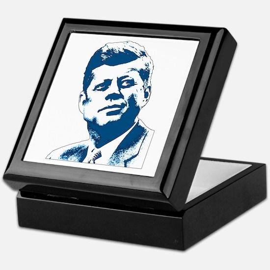 John F Kennedy Tribute Keepsake Box