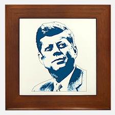 John F Kennedy Tribute Framed Tile