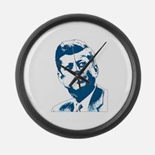 John F Kennedy Tribute Large Wall Clock