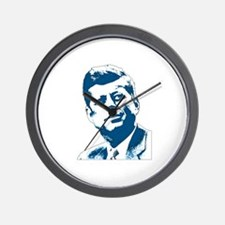 John F Kennedy Tribute Wall Clock