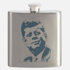 John F Kennedy Tribute Flask