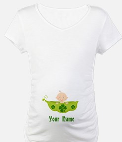Personalized St Patricks Baby Shirt