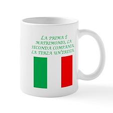 Italian Proverb Marriage Mug