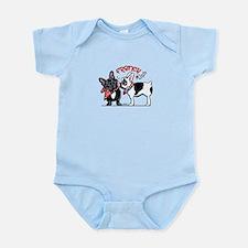 French Kiss Infant Bodysuit