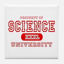 Science University Tile Coaster