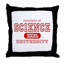 Science University Throw Pillow