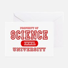 Science University Greeting Cards (Pk of 10)