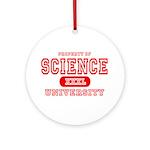 Science University Ornament (Round)