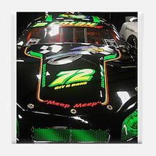 Meep Meep Racing Car Tile Coaster