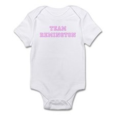 Pink team Remington Onesie