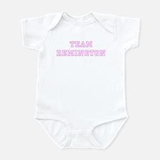 Pink team Remington Onesie
