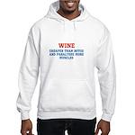 WINE vs BOTOX Hooded Sweatshirt