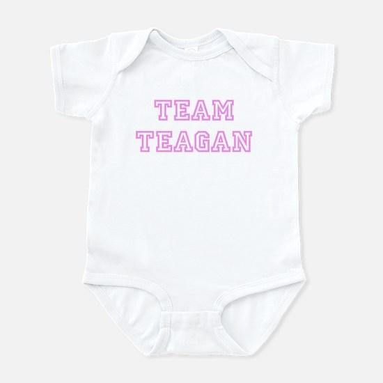 Pink team Teagan Infant Bodysuit