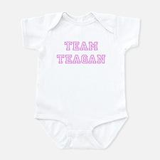 Pink team Teagan Onesie