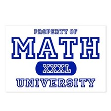 Math University Postcards (Package of 8)