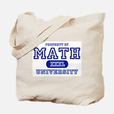 Math University Tote Bag