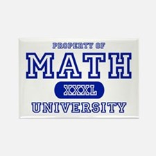 Math University Rectangle Magnet (10 pack)