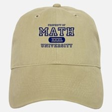 Math University Baseball Baseball Cap
