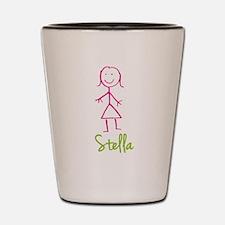Stella-cute-stick-girl.png Shot Glass