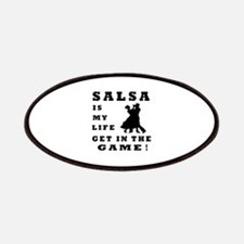 Salsa Is My Life Patches