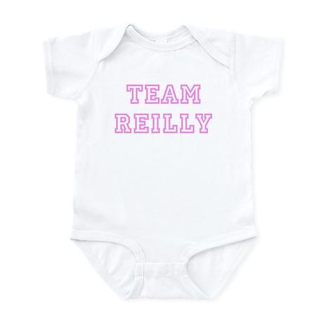Pink team Reilly Infant Bodysuit