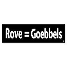 Carl Rove = Goebbels