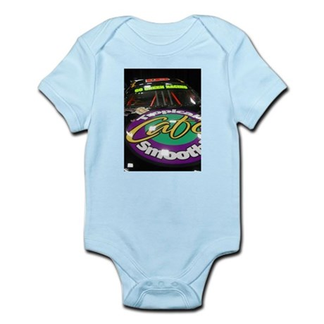 Cafe Sponsored Racing Car Infant Bodysuit