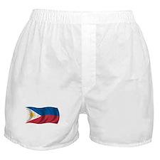 Wavy Philippines Flag Boxer Shorts