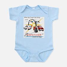 Dispatchers lead the way Infant Bodysuit