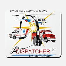 Dispatchers lead the way Mousepad