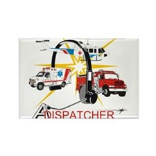 Dispatchers lead the way Rectangle Magnet