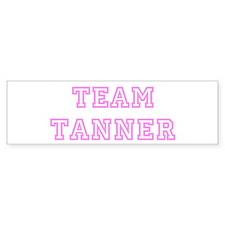 Pink team Tanner Bumper Bumper Sticker