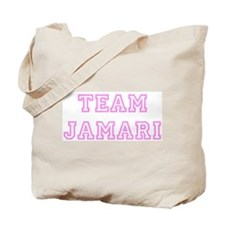 Pink team Jamari Tote Bag