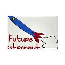 Future Astronaut Rectangle Magnet