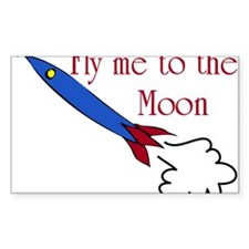 Fly me to the Moon Decal