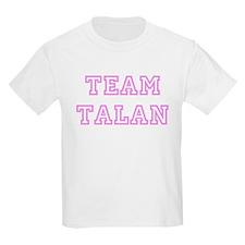 Pink team Talan Kids T-Shirt