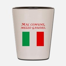 Italian Proverb Trouble Shared Shot Glass