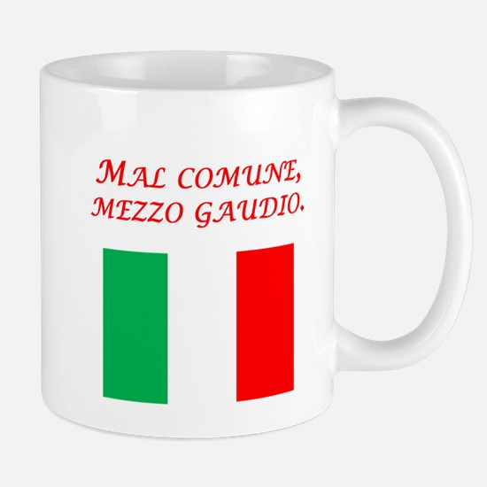 Italian Proverb Trouble Shared Mug