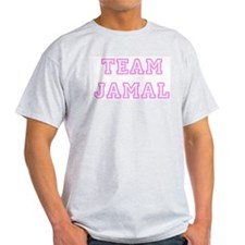 Pink team Jamal Ash Grey T-Shirt