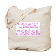 Pink team Jamal Tote Bag