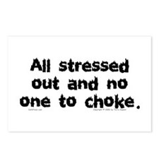 Stressed Out... Postcards (Package of 8)