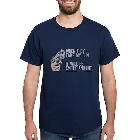 My Gun Will Be Empty Dark T-Shirt