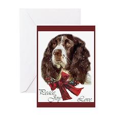 English Springer Spaniel Greeting Card