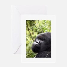 Mountain Gorilla Greeting Card