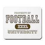 Football University Mousepad