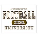 Football University Small Poster