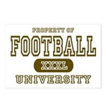 Football University Postcards (Package of 8)