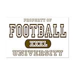 Football University Mini Poster Print