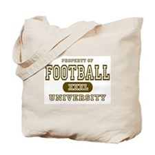Football University Tote Bag