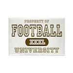 Football University Rectangle Magnet (10 pack)